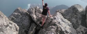 Hiking to Hangklip at Pringle Bay, a short drive from Cape Town
