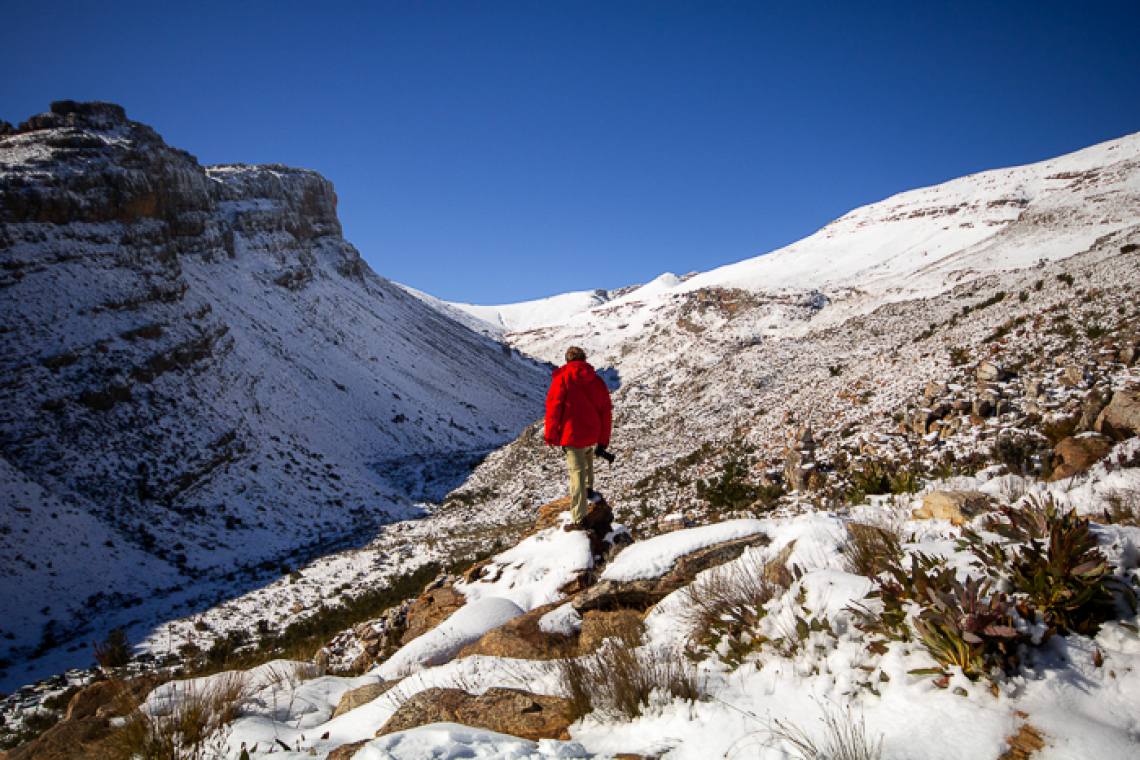 Matroosberg Snow: Snowball fights and epic landscape photography