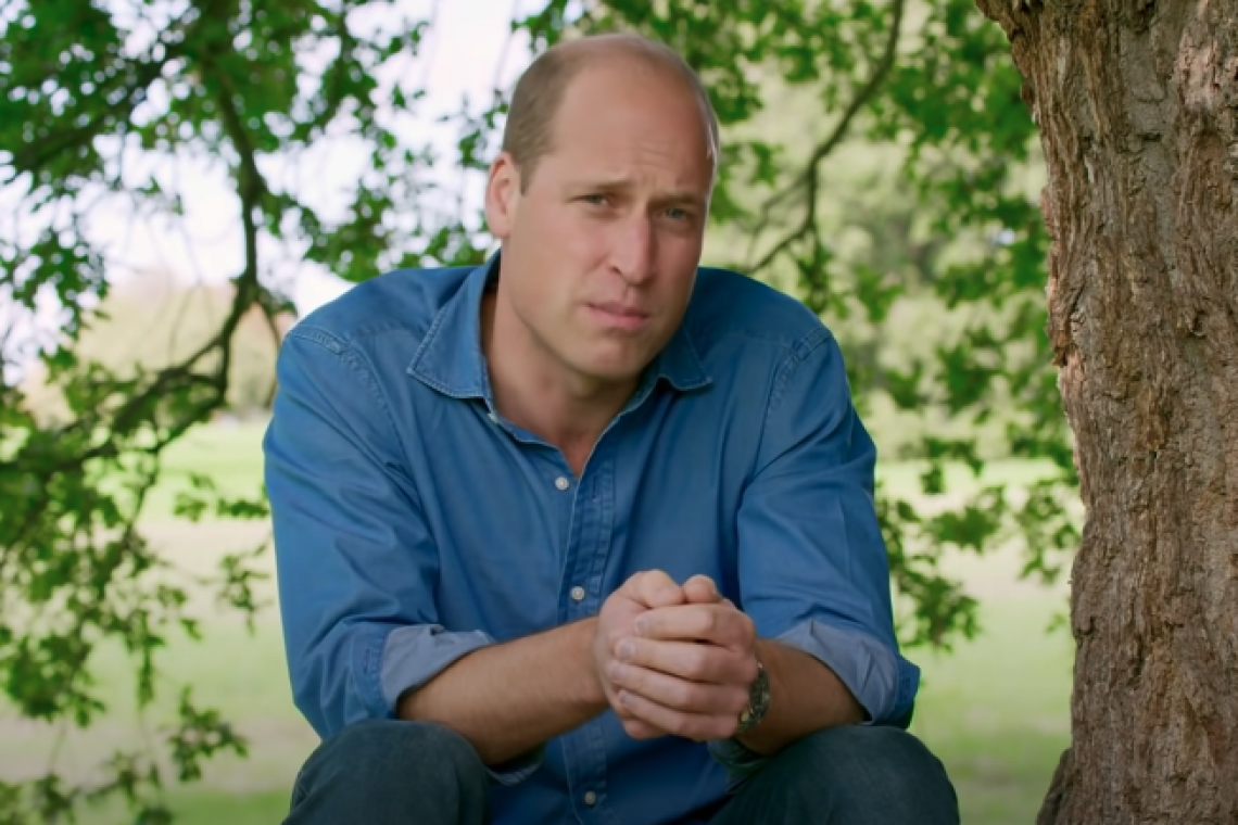 Ted talk by Prince William on climate change and the environment